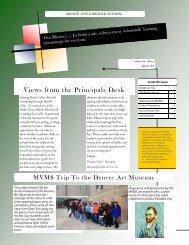MVMS newsletter - Monte Vista School District