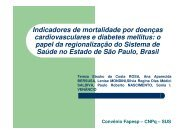 Indicadores de mortalidade por doenças ... - Epi2008