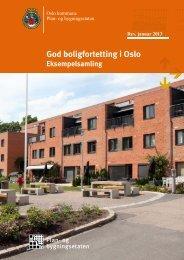 God boligfortetting i Oslo - Plan