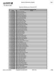 admitidos posgrado para el semestre 2011-1 - Universidad EAFIT