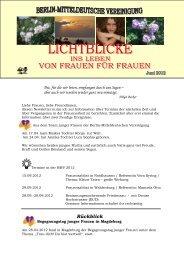 Lichtblicke 12 - Christlichefrauen.net