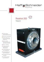 Rotoklick 200 - Haff & Schneider GmbH & Co. OHG, Nesselwang