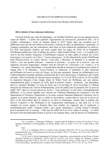 Stefano Lazzarin - Réseau européen d'études littéraires comparées ...