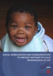 social mobilisation and communication to prevent mother-to-child ...
