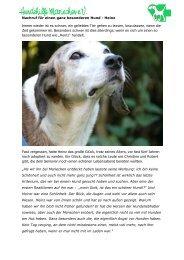 Nachruf für einen ganz besonderen Hund - Hundehilfe-mariechen.de
