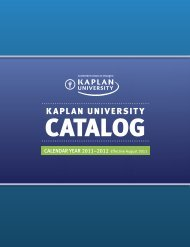 Bachelor of Science in Accounting - Kaplan University | KU Campus
