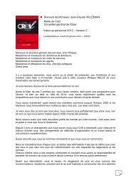 Discours de Monsieur Jean-Claude VILLEMAIN ... - Ville de Creil
