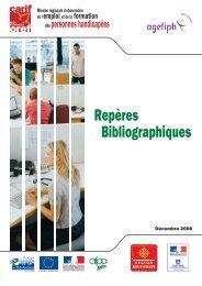Repères Bibliographiques - Carif Oref Midi-Pyrénée