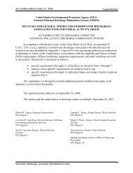 Multi-Sector General Permit For Stormwater Discharges Associated ...