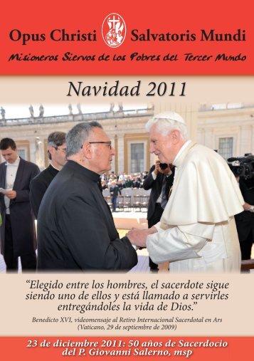 Navidad 2011 2.0.indd - Misioneros Siervos de los Pobres del ...