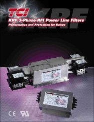 EMI Filter - Power Quality and Drives