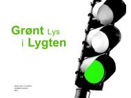 i Lygten Grønt Lys - Grontmij