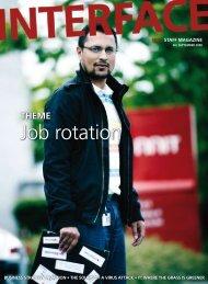 Job rotation - NNIT