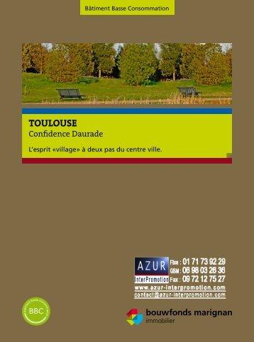 31 Toulouse - Confidence Daurade - Azur InterPromotion