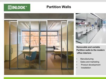 Partition Walls - Inlook
