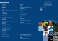 BioMed@POLIMI: 20 years and beyond Le scienze della vita al ...