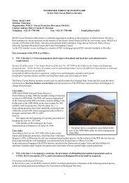 WOODMARK FOREST QUESTIONNAIRE - FSC Watch