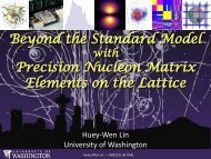 Beyond the Standard Model with Precision Matrix Elements on the ...