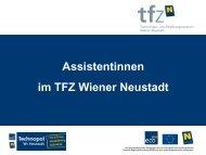 Assistentinnen im TFZ Wiener Neustadt - beim TFZ Wiener Neustadt