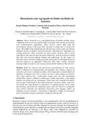 Roteamento com Agregação de Dados em Redes de ... - GTA - UFRJ
