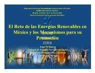 El Reto de las Energías Renovables en México y los Mecanismos ...