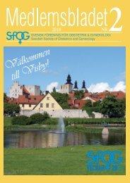 Medlemsblad 2 2010 - SFOG