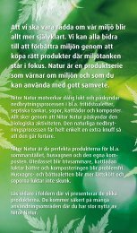 Nitor Natur folder