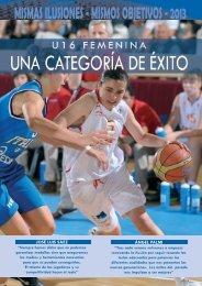 U16F version 3.qxp - Federación Española de Baloncesto