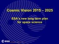 Cosmic Vision 2015