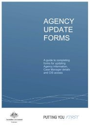 Agency update forms completion guide [PDF,157KB] - Comcare