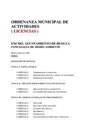 ordenanza municipal de actividades ( licencias ) - Miliarium