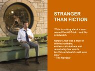 STRANGER THAN FICTION - Visual Hollywood