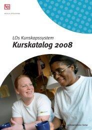 LOs Kunskapssystem Kurskatalog 2008