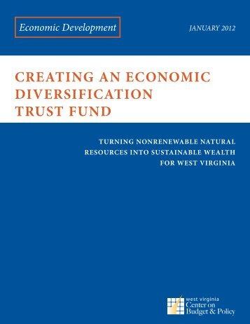 Creating an Economic Diversification Trust Fund - Downstream ...