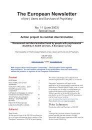The European Newsletter - Peter Lehmann Publishing