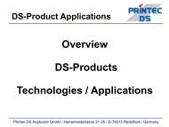 DS-Product Applications - Wagner GmbH