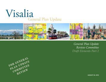 General Plan Update Review Committee Draft Elements Part 2 For ...