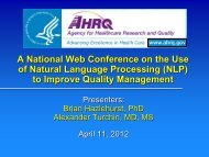 A National Web Conference on the Use of Natural Language ...