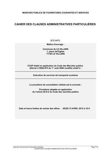 CCAP - Le Villars