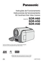 SDR-H40.pdf - Panasonic