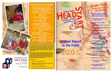 Annual Report to the Public - Tennessee Head Start