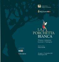 PORCHETTA BIANCA - Centro Studi Gabriele Galantara
