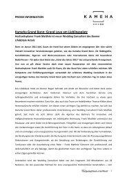 Kameha Grand Bonn: Grand Love am Lieblingsplatz