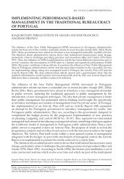 implementing performance‐based management in ... - ResearchGate