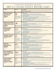 US Ocean Policy Report Card - Joint Ocean Commission Initiative - Page 2