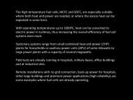 The high-temperature fuel cells, MCFC and SOFC - Virginia Clean ...