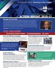 Action Report 2010-2011 - Crime Prevention Ottawa