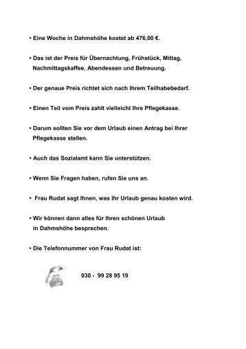 dahmshoehe urlaubstermine leichte sprache 2012 - Lebenshilfe ...