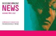 ausgaBe mÄrZ 2012 - DESIGNINMAINZ – Der Newsletter
