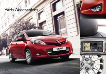 Brochure accessoires Yaris 2012 - sites Toyota